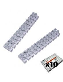 Material Eléctrico Clema regleta de cable eléctrico 16A. Pack 10 71-F16-30A