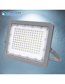 Proyector Exterior LED Foco LED 50W 6K Lumileds Gris 57-FL9-50W-GY6K