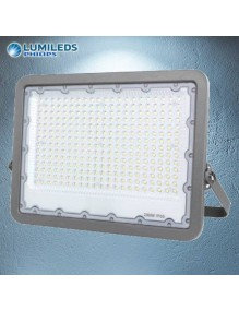 Proyector Exterior LED Foco LED 100W 6K Lumileds Gris 57-FL9-100W-GY6K