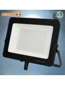 Proyector Exterior LED Foco LED 100W 6K Osram Negro 57-FL8-100W-BK6K