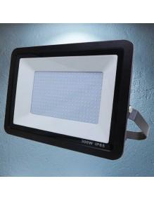 Proyector Exterior LED Foco LED 300W 6K Slim Negro 57-FL4-300W-BK6K