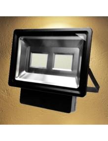 Proyector Exterior LED Foco LED 200W 3K Epistar Negro 57-FL4-200W-WW-SUPER