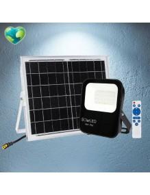 Proyector Exterior LED Foco Solar LED 30W 6K 57-FL4-30W-SOLAR
