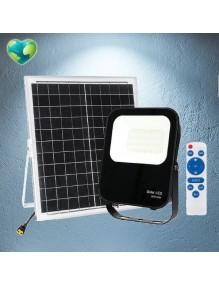 Proyector Exterior LED Foco solar LED 60W 6K 57-FL4-60W-SOLAR