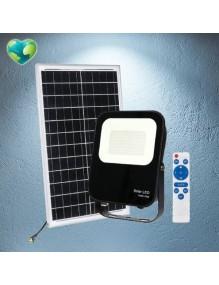 Proyector Exterior LED Foco solar LED 100W 6K 57-FL4-100W-SOLAR