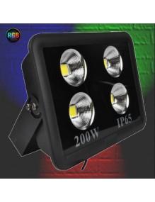 Proyector Exterior LED Foco LED 200W RGB Automático 57-JY-200W-RGB