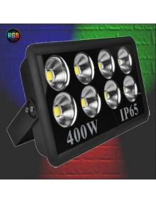 Proyector Exterior LED Foco LED 400W RGB Automático 57-JY-400W-RGB