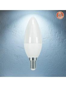 E14 Bombilla LED Vela 6W 6K 3Y 3Y-C37-6W-6K