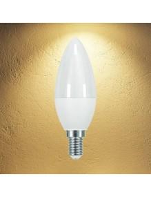 E14 Bombilla LED Vela 8W 3K 40-LED-C30-8W-3K