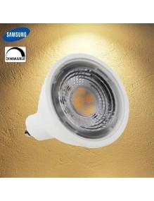 GU10 Bombilla LED 7W 3K Dimable GU10 40-LED-GU10-6W-3K-DIM