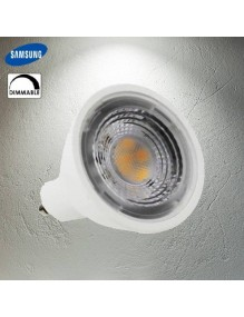GU10 Bombilla LED 7W 4K Dimable GU10 40-LED-GU10-6W-4K-DIM