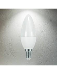 E14 Bombilla LED Vela 3.2W 4K 40-LED-C37-3W-K2-NP