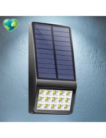 Placa solar Aplique Solar LED 4W 6K B860 SLR-B860-BK6K-KT4