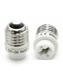 Adaptadores Adaptador E27 a G9 58-T-E27-G9