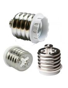 Adaptadores Adaptador E40 a E27 58-T-E40-E27