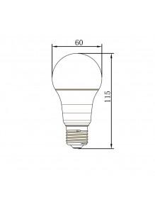 Inicio Bombilla LED A60 10W Smart Wifi SM-A60-10W-LS