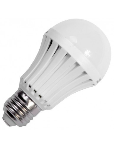 E27 Bombilla Emergencia LED E27 8W 6K 40-TM-8W-G80-WH
