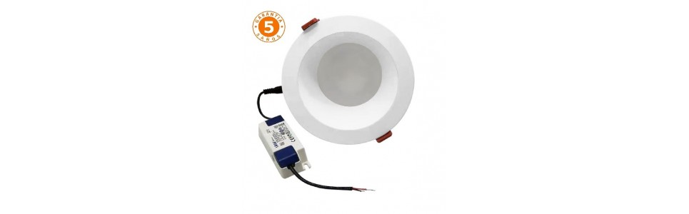 Downlights LED empotrable