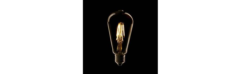 Bombillas LED Decorativas con Filamentos