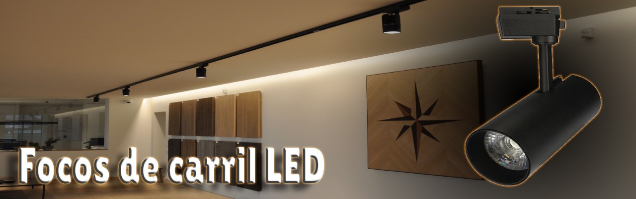 Focos carril LED de Düsselled